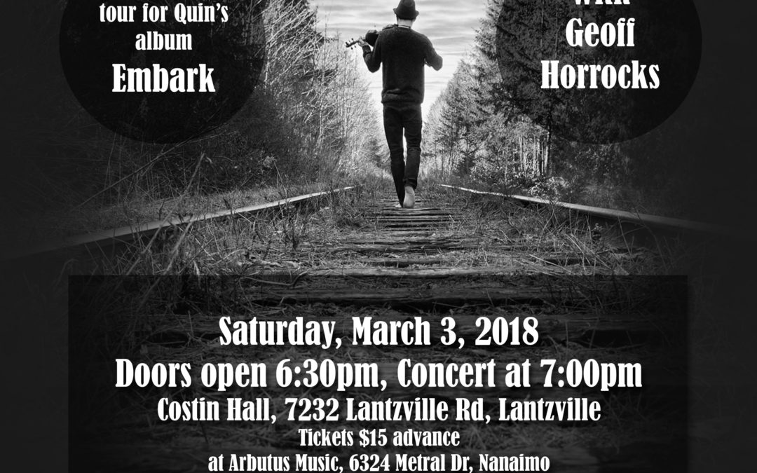 Concert at Costin Hall, Lantzville
