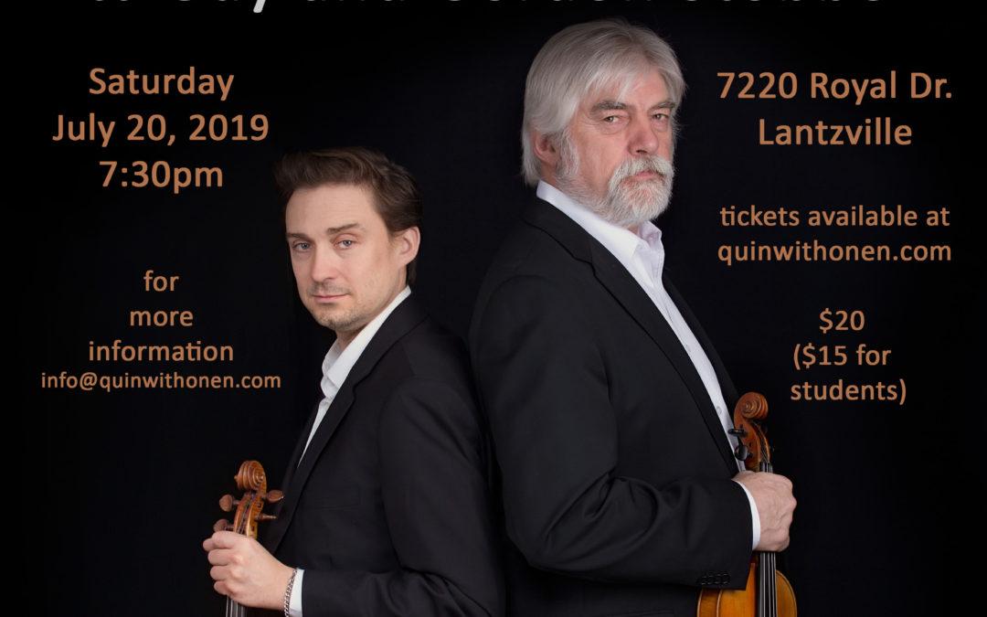 Twin Fiddles House Concert